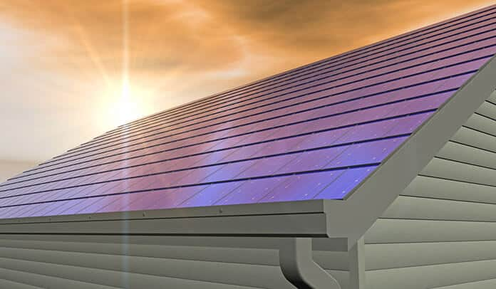 Integrated Solar Shingles Installed on a Roof: More Aesthetically Appealing and Sleeker