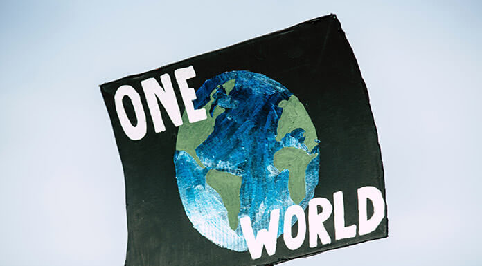 One World, No Plan B: Global Climate Change Protest