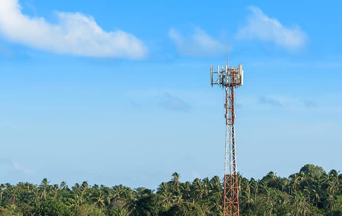 Minishing the Digital Divide in Africa: Cellular Mobile Antennas on Telecommunication Tower
