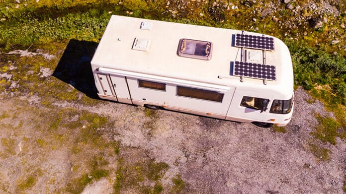 A Portable, Flexible Solar Panel System on a RV
