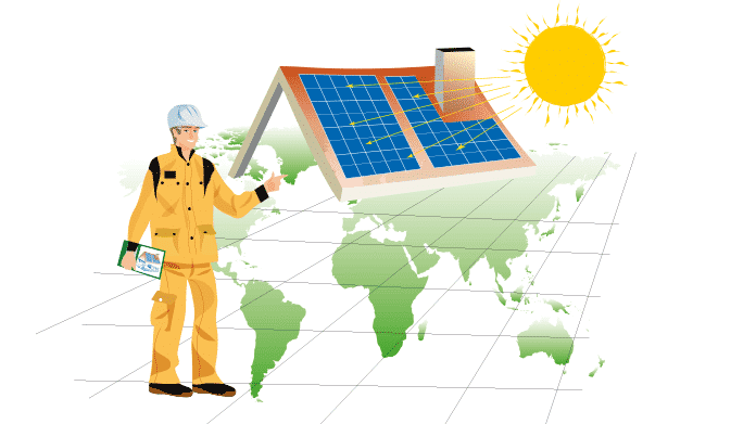 A Solar Contractor Visits and Inspects Your Site Before Solar Power System Installation