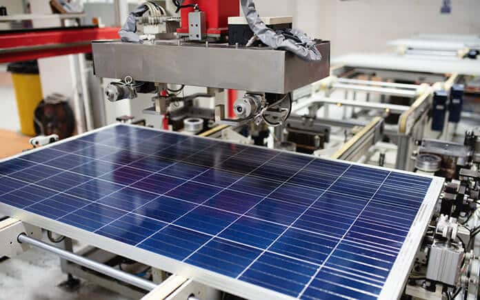 Domestic Robotic Solar Panel Manufacturing: Solar Technology Innovation