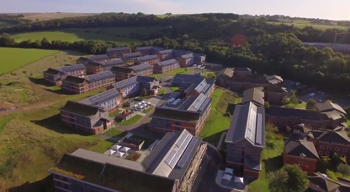 The 865kW Solar Installation at the University of Sussex, UK