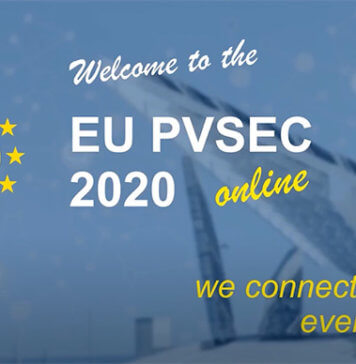EU PVSEC 2020: Online Solar PV Conference for Global Solar Specialists