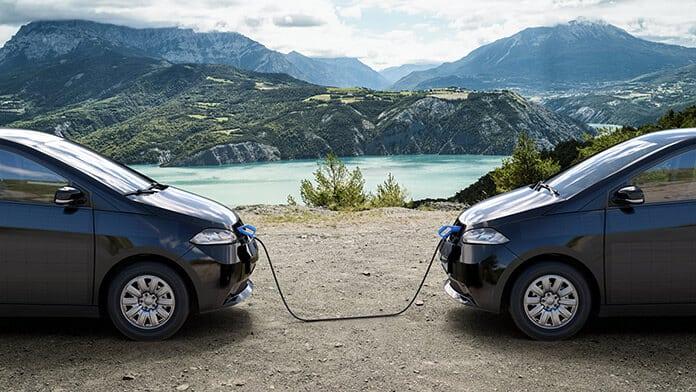 Bi-Sono Power Sharing Technology of Sion Car