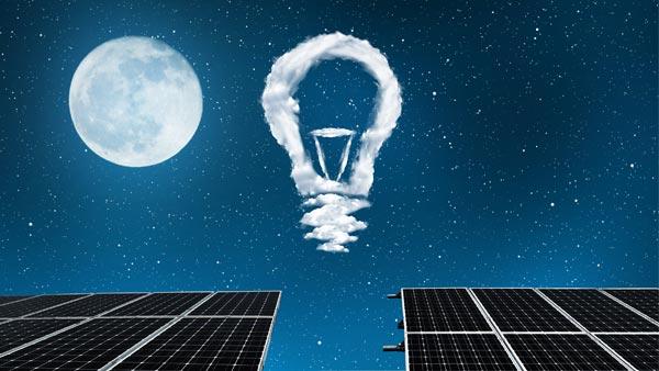 Solar Panels and Light Bulbs