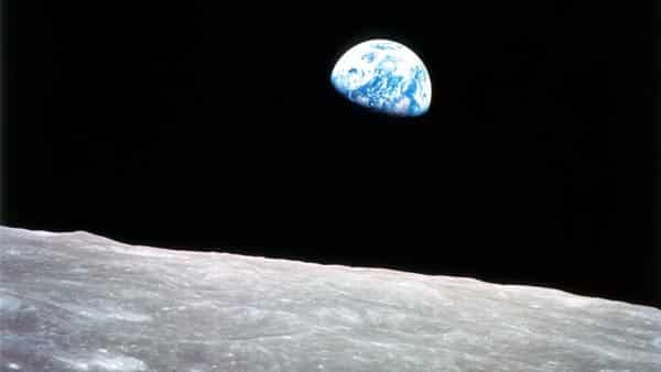View From the Moon to the Earth