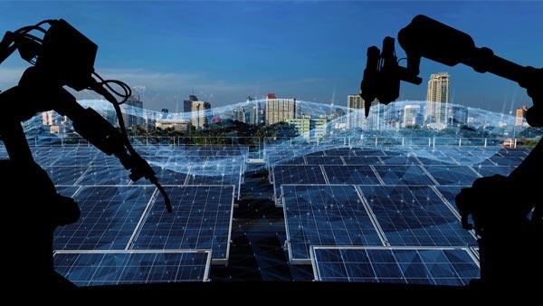 AI Robots and Solar Panel Assembling