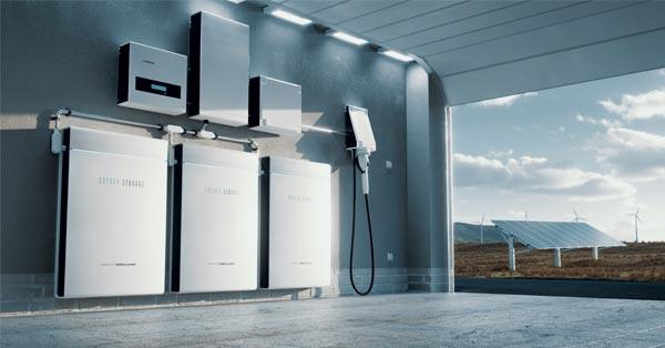 Home Solar Battery Storage System