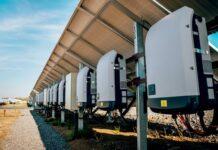 Solar Inverters Installed Below Solar Arrays