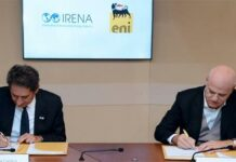 Eni and IRENA Sign a Partnership Agreement to Accelerate Renewable Energy Transition